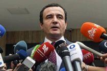 Samoopredeljenje pobednik izbora, Kurti: Sledi mnogo posla, Kosovo je u krizi