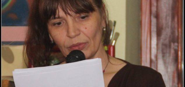 """TAMARA ČAPELJ  """"GIOCONDIN SMIJEŠAK"""" promocija knjige poezije"""