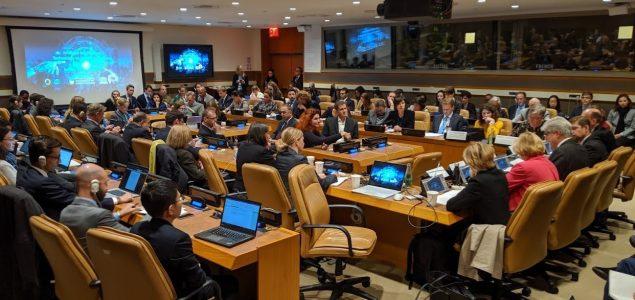 Glavna predstavnica IFIMES-a pri ECOSOC/UN Mernik Knee na raspravi o umjetnoj inteligenciji u New Yorku