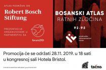 U Mostaru će biti predstavljen Bosanski atlas ratnih zločina '92 – '95