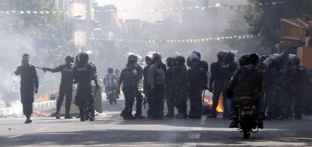 Iranski pobunjenici ubili trojicu policajaca