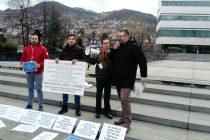 """U Sarajevu održan """"Marš za žrtve korupcije"""""""