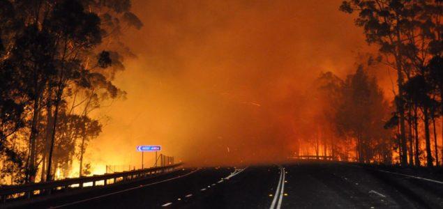 Tisuće u Australiji bježe prema moru dok se požari kreću ka obali