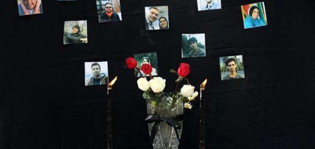 Ukop žrtava poginulih u padu aviona, Kanađani odali počast