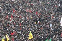 Stotine hiljada ljudi na ulicama Teherana ispraća Soleimanija