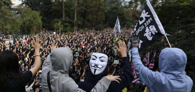 Nastavljaju se protesti u Hong Kongu, marš zabranjen