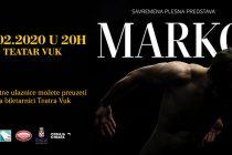 Premijera plesne predstave MARKO u Beogradu
