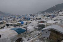 Civili iz Idliba u izbjeglištvu bore se s oštrom zimom