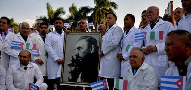 Medicinska brigada s Kube stigla u Italiju: 'Svi se bojimo, ali treba napraviti revolucionarni posao'