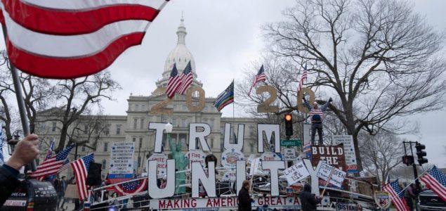 Protesti protiv mjera ograničenja uz Trampov blagoslov