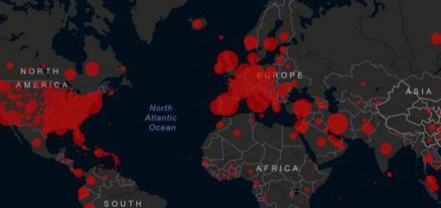 Više od milion zaraženih virusom, 200 hiljada oporavljenih