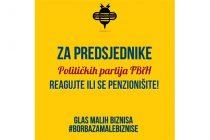 Otvoreno pismo predsjednicima stranaka: HITNE MJERE ZA SPAS OBRTA, MALIH BIZNISA I 262.000 RADNIH MJESTA