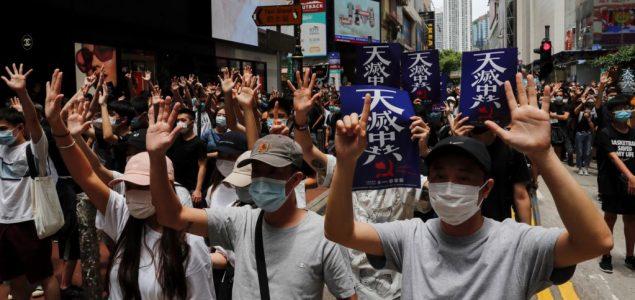 Policija u Hong Kongu ispalila suzavac na demonstrante