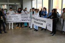 Nezavisni strukovni sindikat radnika zaposlenih u zdravstvu HNK hitno traži od Vlade HNK-a početak pregovora o kolektivnom ugovoru
