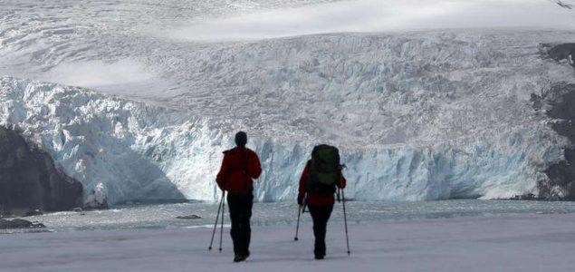 Zeleni snijeg na Antarktiku širi se zbog klimatskih promjena