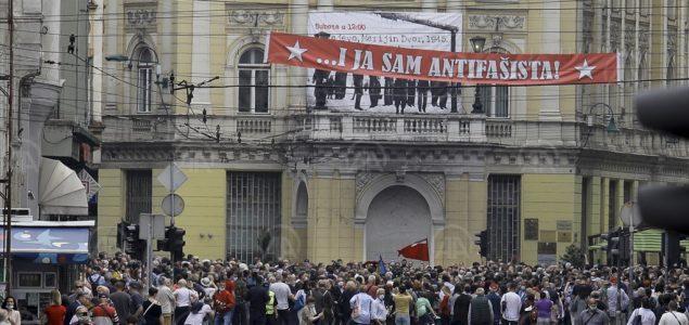 Prema čijem nalogu policija u Sarajevu i Mostaru saslušava organizatore antifašističkih protesta?