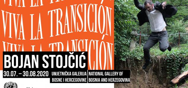 """Samostalna izložba Bojana Stojčića """"Viva la Transicion"""" u Umjetničkoj galeriji BIH"""