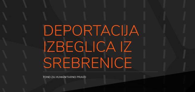 "Prvi digitalni narativ Fonda za humanitarno pravo – ""Deportacija izbeglica iz Srebrenice"""