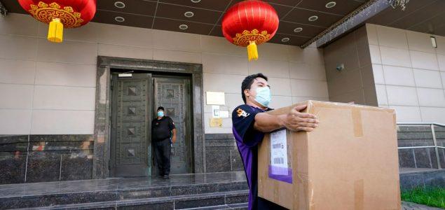 Američki agenti upali u kineski konzulat u Houstonu koji nije na vrijeme zatvoren
