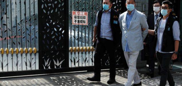 Uhapšen vlasnik prodemokratskih medija u Hong Kongu