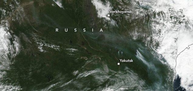 Satelitska slika tjedna: Gusti vazduh nad Sibirom