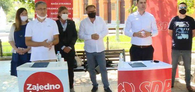 Naša stranka i SDP BiH zajedno na izbore u Mostaru