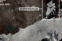 Odlomio se veliki komad leda na Grenlandu, otapanje se dešava brže od očekivanog