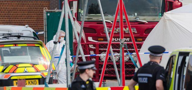 Osuđeno 7 osoba umiješanih u smrt 39 migranata koji su pronađeni u hladnjači kod Londona