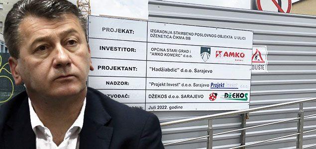 U srcu Sarajeva na otetoj jevrejskoj zemlji: Hadžibajrić i Amko komerc započeli izgradnju stambenog kompleksa