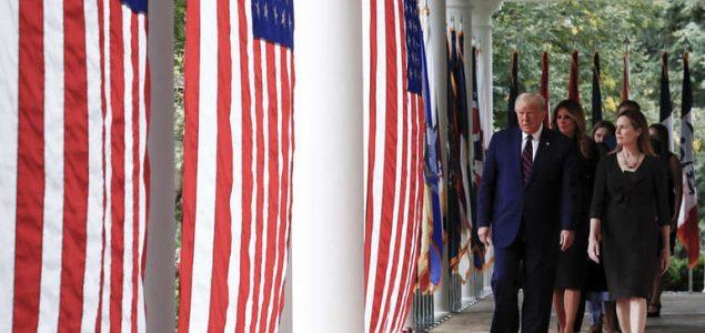 Trump nominirao Amy Coney Barrett za sutkinju Vrhovnog suda