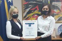 Gradonačelniku Tuzle dodijeljeno priznanje Kruna razvoja privrede; Jasmin Imamović: 'Ovo je priznanje za sve nas'
