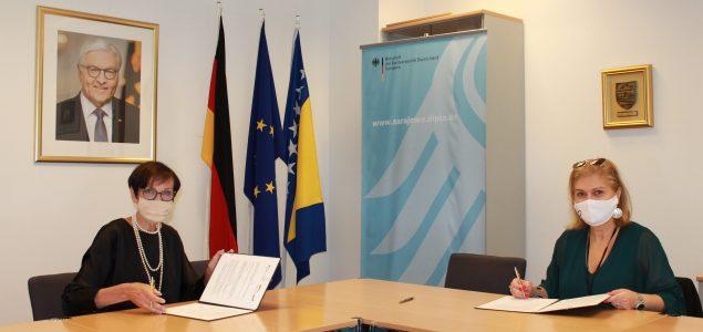 Njemačka ambasada pruža podršku zdravstvenim ustanovama i školama u borbi protiv pandemije koronavirusa