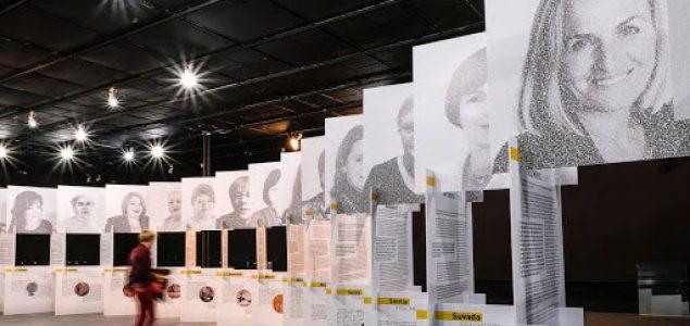 """Otvaranje izložbe """"Mir sa ženskim licem"""" u Mostaru"""