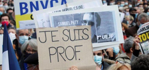 Posthumno odlikovanje za ubijenog francuskog nastavnika