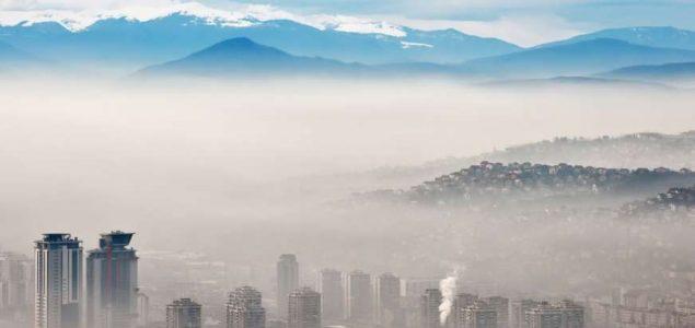 Švicarski IQAir zaprepašten: Zagađen zrak u Sarajevu, visoka koncentracija štetnih čestica