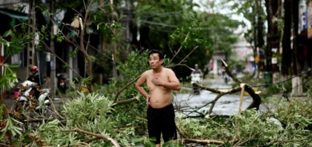 U Vijetnamu nakon udara tajfuna 25 mrtvih i deseci nestalih