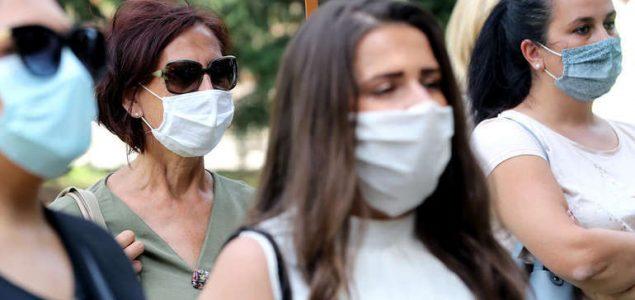 Zemlje Balkana bilježe veliki broj novozaraženih