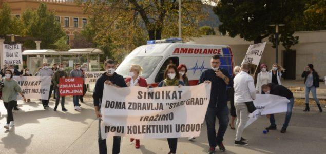 Dalibor Vuković predsjednik Nezavisnog sindikata zdravstvenih radnika HNK-a osudio pritiske na novinare i članove sindikata