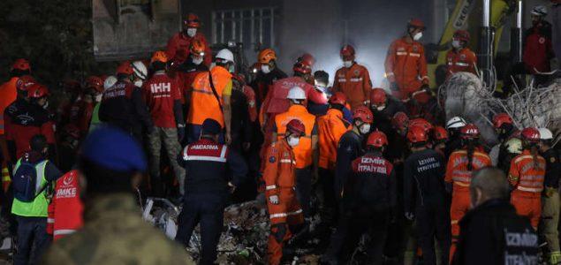 Izmir: Završene potrage i spašavanja, broj žrtava raste