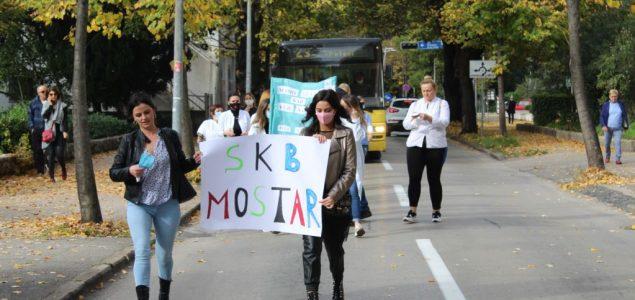 Mostar: Sindikati zdravstvenih radnika traže kolektivni ugovor