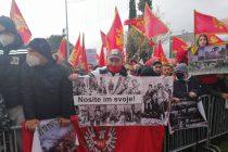 Protest ispred Skupštine Crne Gore protiv izmjena vjerskog zakona