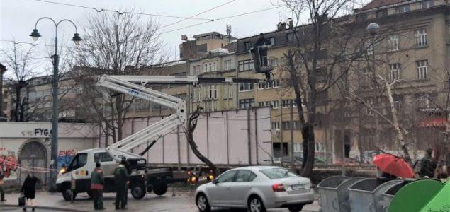 """AJNADŽIĆEVA """"ZAOSTAVŠTINA"""": Na Drveniji počela sječa stabala radi gradnje privatnog objekta po spornom rješenju!"""