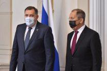BEZ KOMŠIĆA I DŽAFEROVIĆA: Milorad Dodik sam primio ruskog ministra Sergeja Lavrova