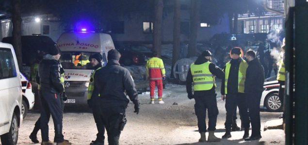 Jutro nakon nereda u centru za migrante u Blažuju: Povrijeđeni policajci, prevrnuta policijska vozila…