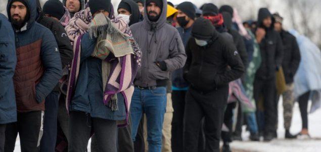 Migranti u stanju agonije: Pitaju se hoće li umrijeti od hladnoće ili gladi?