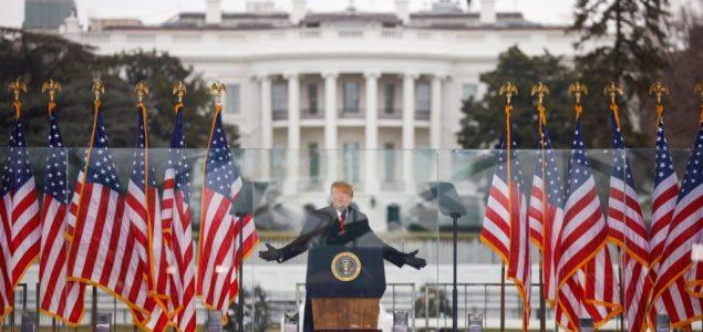 'Sramotan' napad na američku demokratiju