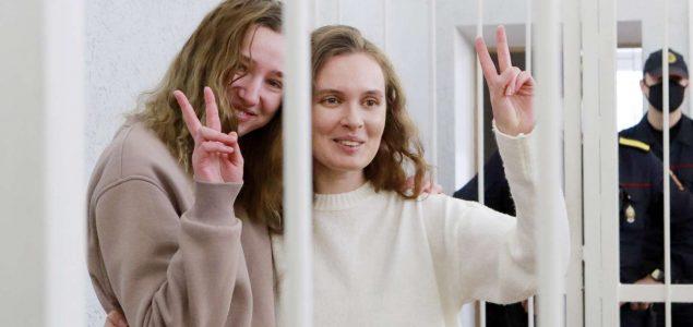 Bjeloruskim novinarkama kazna zatvora zbog snimanja prosvjeda