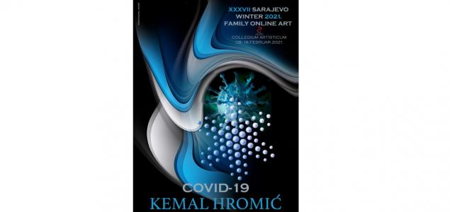 Collegium artisticum: Kemal Hromić – Izložba plakata COVID-19