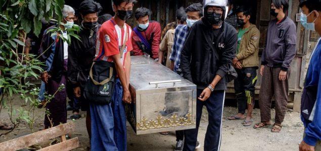 Nevladina organizacija: Više od 500 civila ubijeno u Mjanmaru