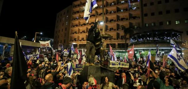 U Izraelu hiljade ljudi na protestu protiv Netanyahua